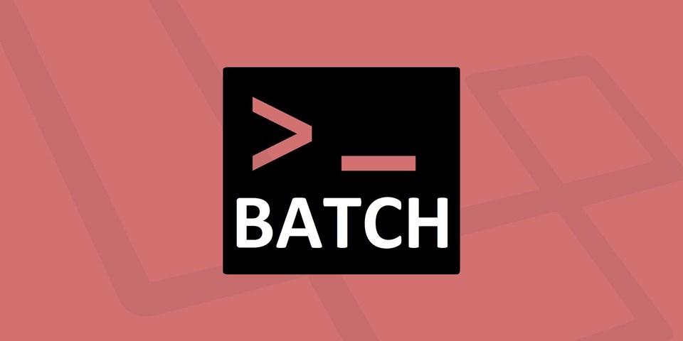 آموزش اسکریپت نویسی مقدماتی : آموزش نوشتن Batch File قسمت 1